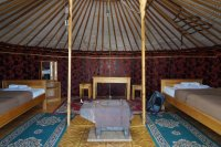 Yurt in Goby Oasis
