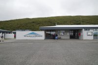 Tourist center at the Skaftafell