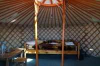 Yurt at Ögii Nuur