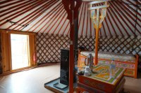 My first yurt
